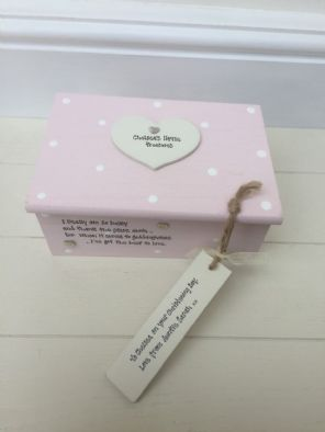 Shabby Personalised Chic Jewellery Box Gift  Special Niece.. Present Any Names